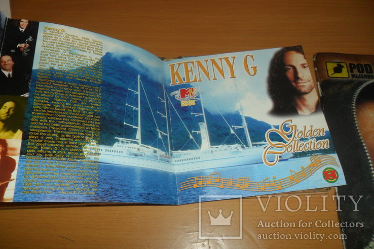 Диск CD сд Kenny G Golden Collection  2 диска, фото №9