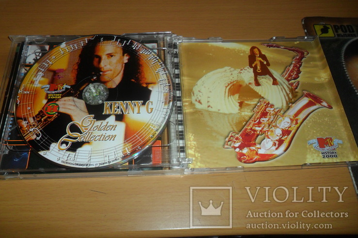 Диск CD сд Kenny G Golden Collection  2 диска, фото №11