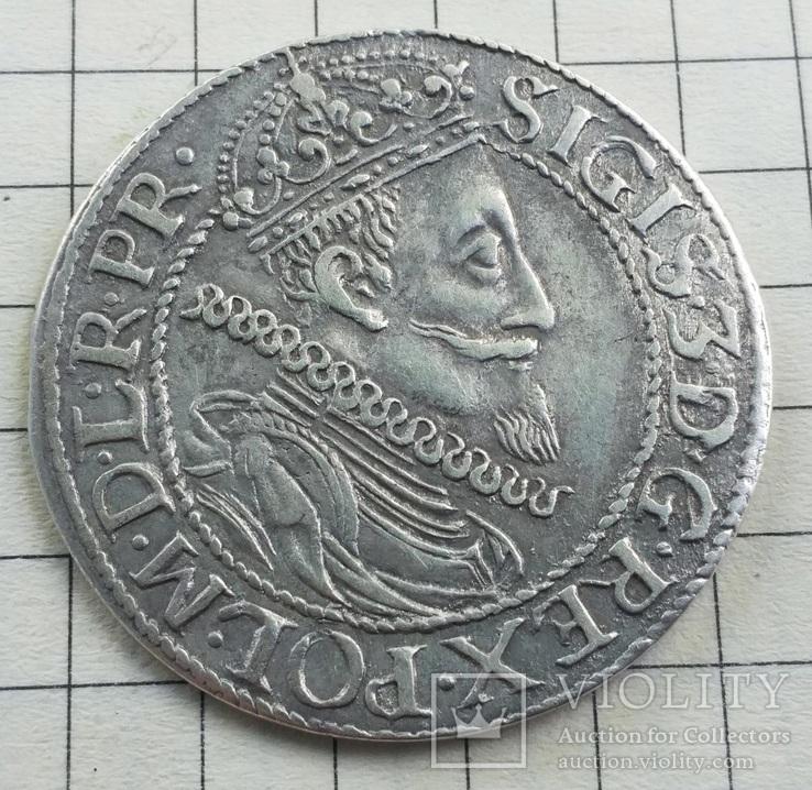 Гданьск Орт 1611 года Сигизмунд III Ваза