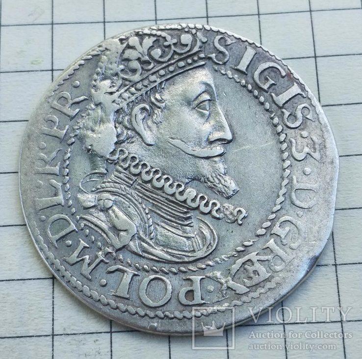 Орт 1613 года Гданьск Сигизмунд III Ваза