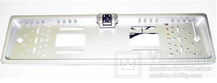 Рамка для номеров с камерой заднего вида, фото №3