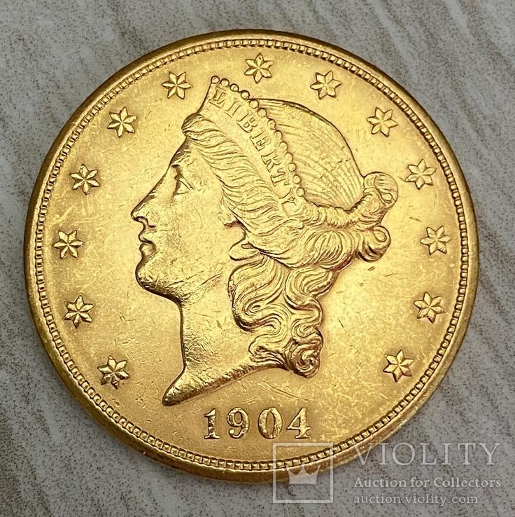 20 долларов 1904