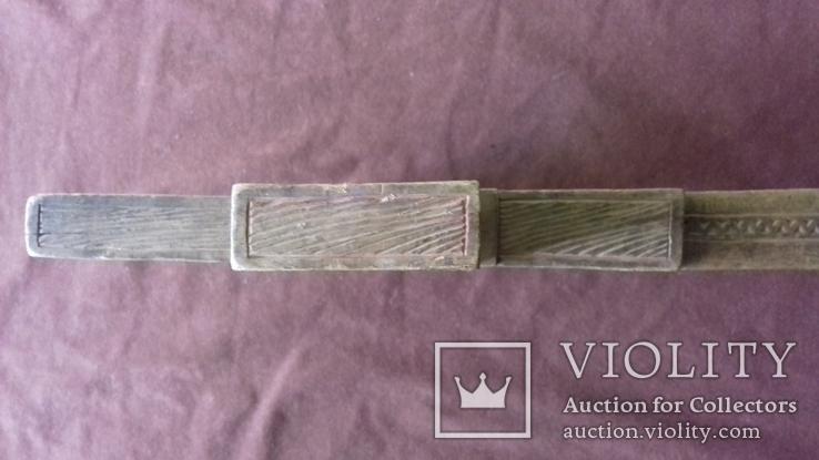 Різьблений дерев'яний хрест., фото №6
