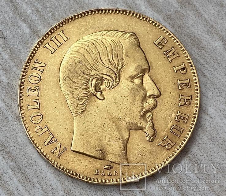 50 франков 1857