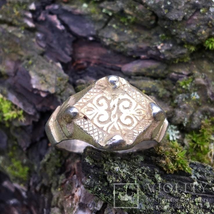 Перстень  14 век