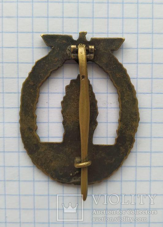 Немецкий знак, копия., фото №3