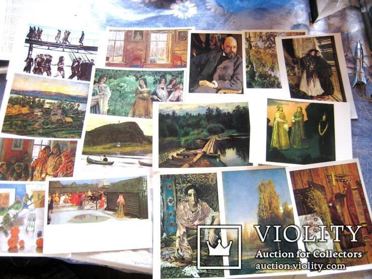 Листівки Третяковської галереї, фото №3