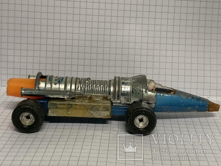Corgi Toy Silver Streak Swedish Jet Dragster, фото №3