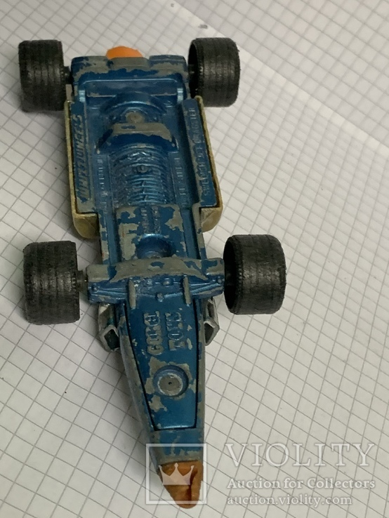 Corgi Toy Silver Streak Swedish Jet Dragster, фото №8