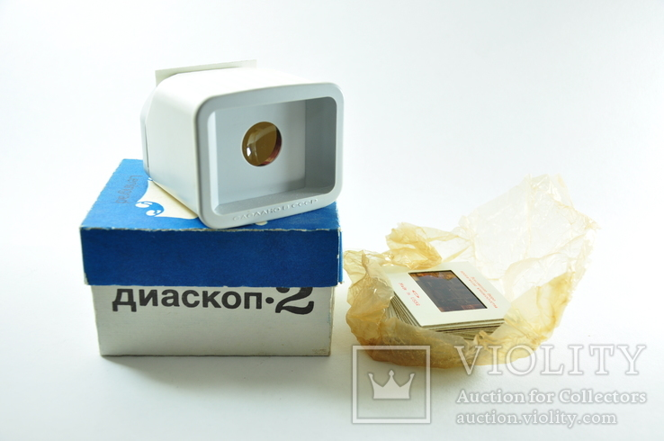 Ленинград Диаскоп 2 с карточками 20шт, фото №2