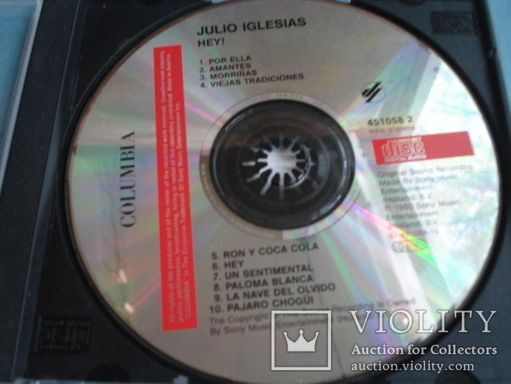 "JULIO IGLESIAS ""HEY"", фото №3"