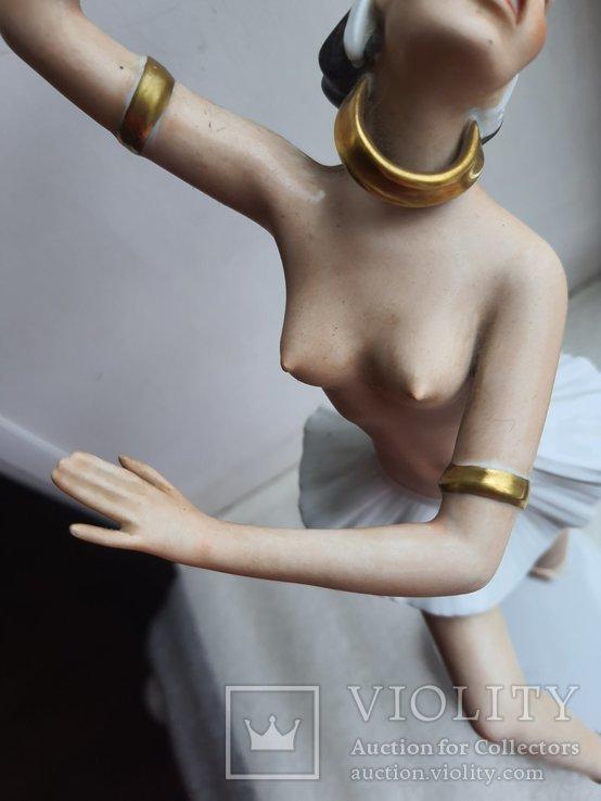 Статуэтка фарфоровая Девушка Негритянка Wallendorf, фото №8