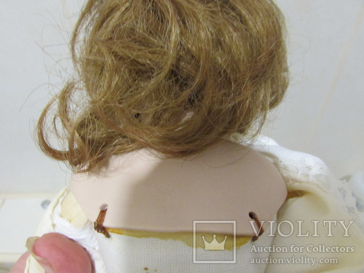 Винтажная фарфоровая кукла Simon & Halbig, фото №5