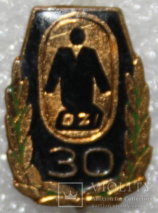 Значок-логотип Чехословакия тяжелый, фото №2