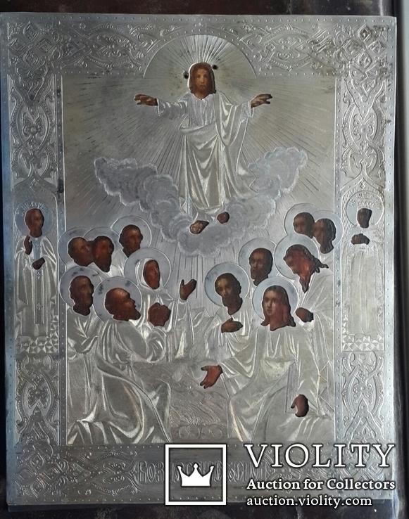 Вознесение Господне. Серебро 84 пробы. 1879 год., фото №2