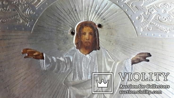 Вознесение Господне. Серебро 84 пробы. 1879 год., фото №4