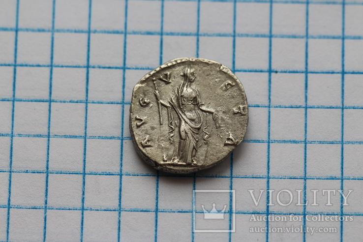 Фаустина I денарий RIC 358, фото №6