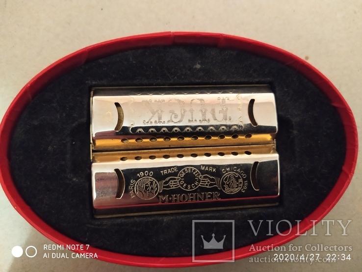 Губная гармошка Double Puck Harmonica