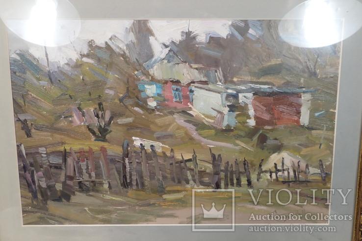 """Картина """"Хата край села"""" Ковалёв В.Н. 2006, фото №3"""