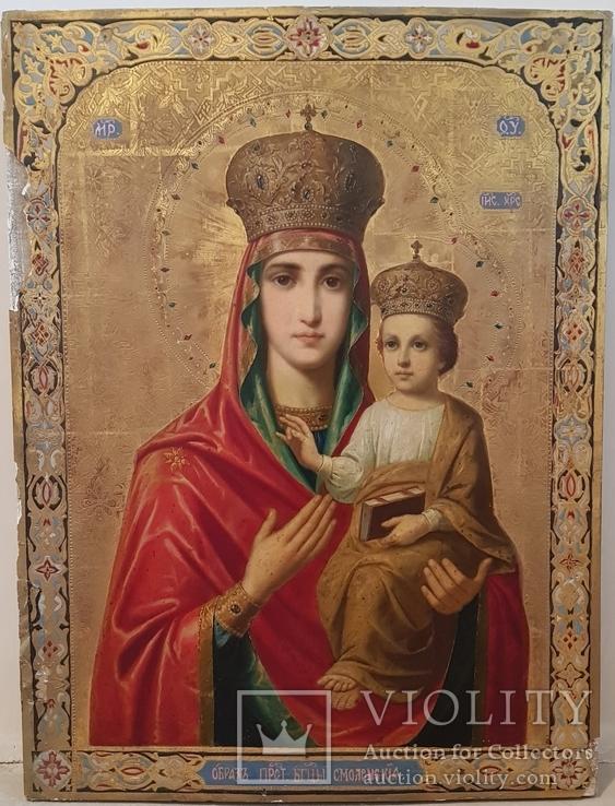 Большая икона Смоленской Богородицы