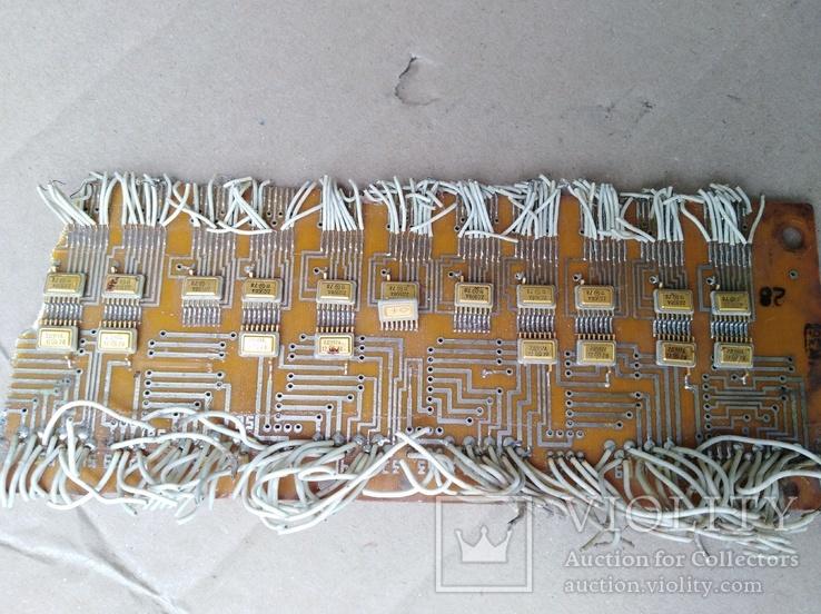 Микросхеми на платах позолота 20 шт, фото №2