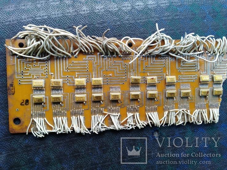 Микросхеми на платах позолота 20 шт, фото №9