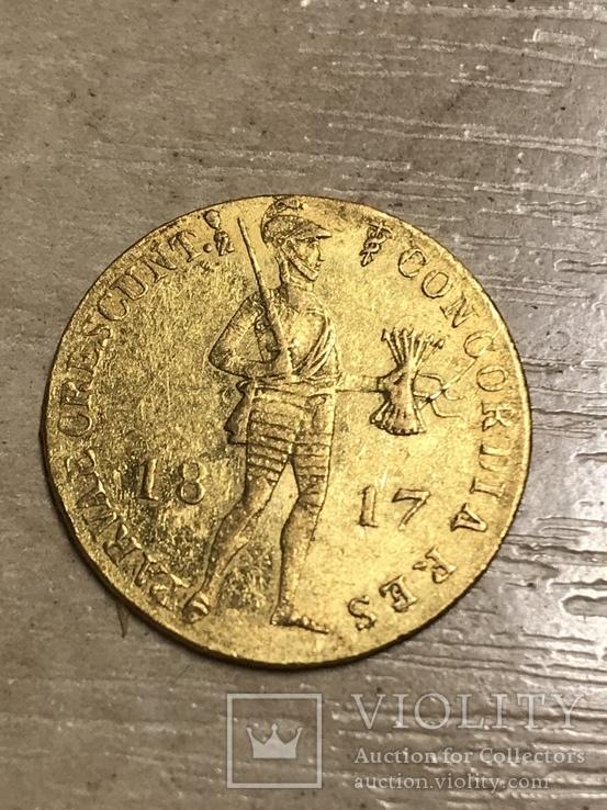 Дукат 1817 год