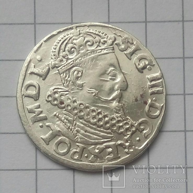 Трояк 1619 года ( Краков )