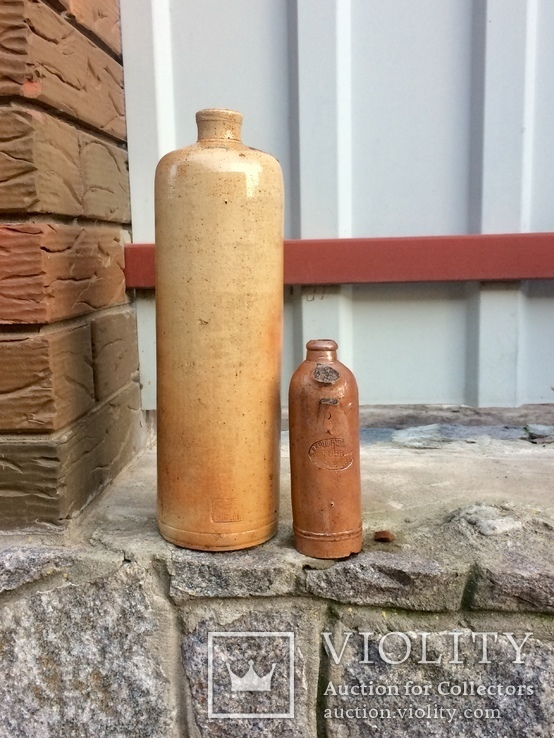 Старинные керамические бутылки, фото №3