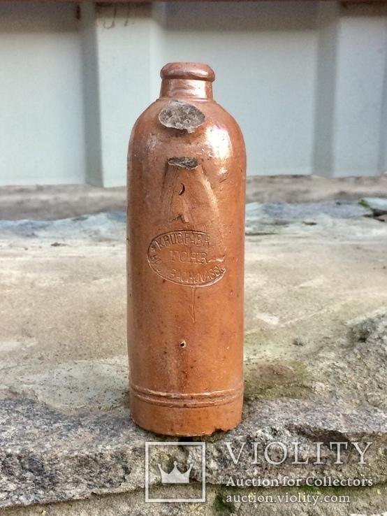 Старинные керамические бутылки, фото №8