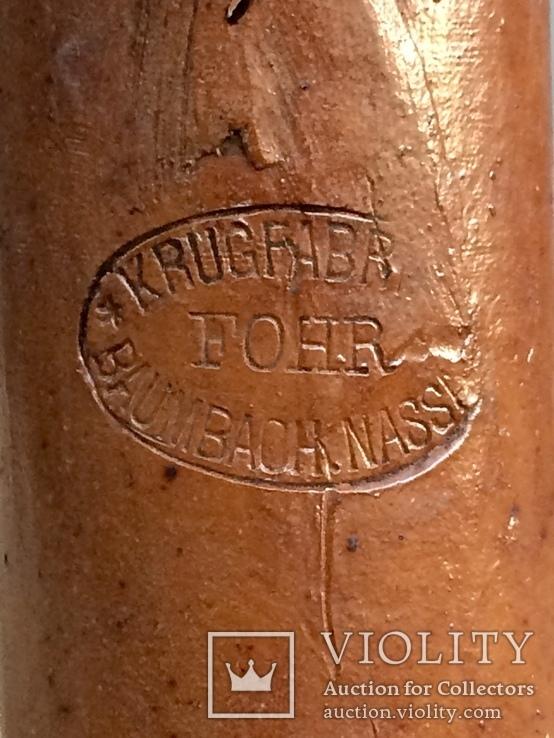 Старинные керамические бутылки, фото №9