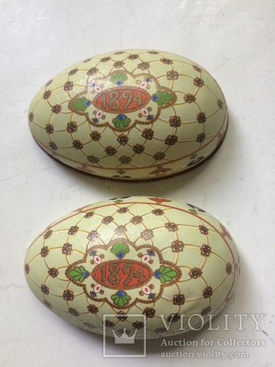 Коробка из под конфет в виде пасхальнго яйца по мотивам яйца Фаберже «Ренесанс», фото №4