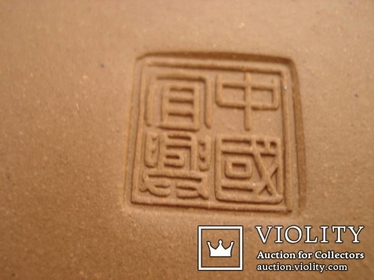 Исинская глина, керамический набор-подставка для заваривания чая, фото №7