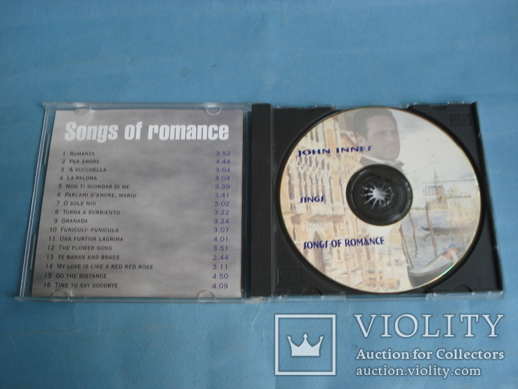 "JOHN INNES  ""Sings Songs of romance"", фото №3"