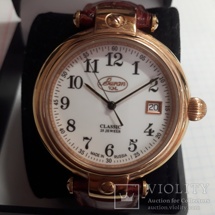 Часы Buran Classic,25 камней,с мех.ЕТА,автоматик, фото №2