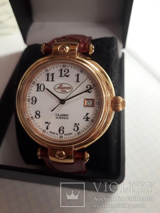 Часы Buran Classic,25 камней,с мех.ЕТА,автоматик, фото №3