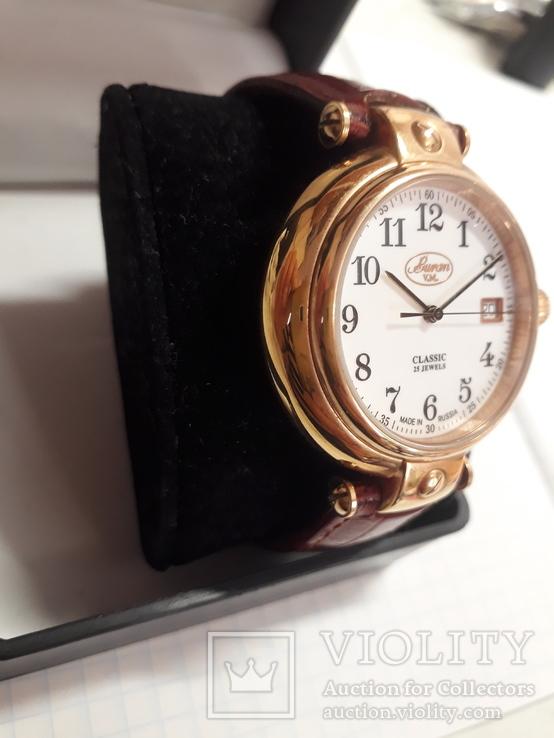 Часы Buran Classic,25 камней,с мех.ЕТА,автоматик, фото №4