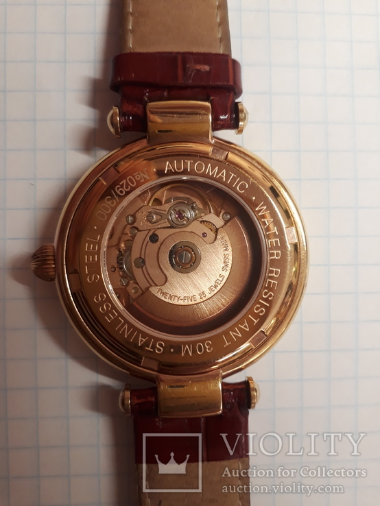 Часы Buran Classic,25 камней,с мех.ЕТА,автоматик, фото №5