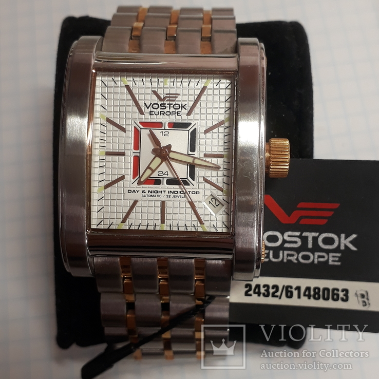 Часы VOSTOK EUROPE,2432/6148063,32камня,автоматик, фото №2