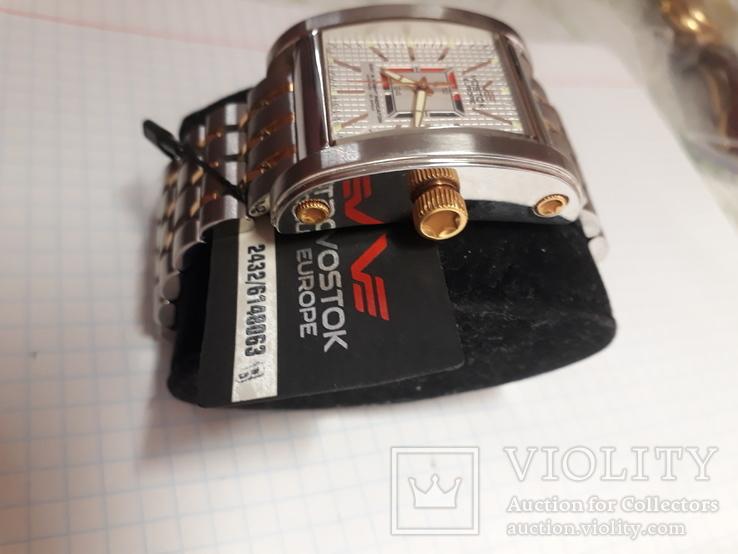 Часы VOSTOK EUROPE,2432/6148063,32камня,автоматик, фото №5