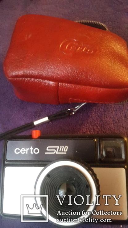 Фотоаппарат certo SL 110 в чехле, фото №2