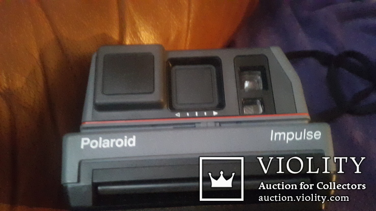 Ретро фотоаппарат Polaroid impulse, фото №2