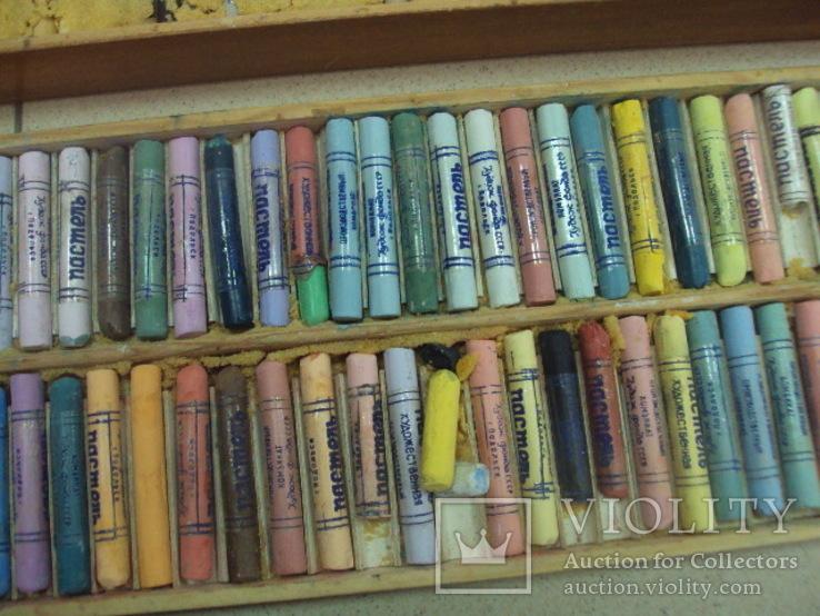 Пастель художественная Подольск ссср 46 х 16 см, фото №11