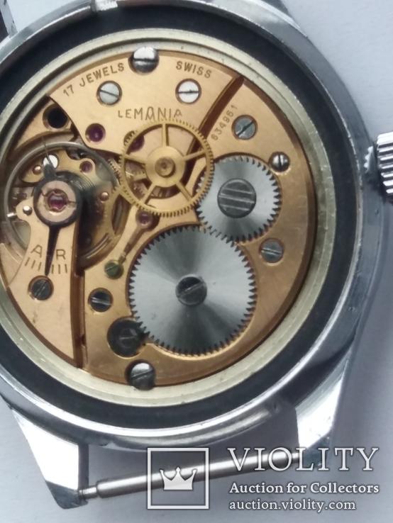 Часы Lemania для военных, фото №6