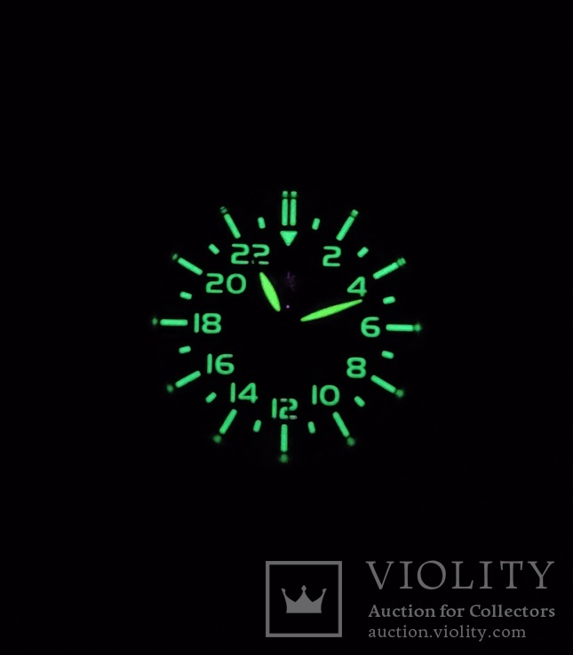 Часы наручные , механизм 2623.Н  ракета 24 часа, фото №6