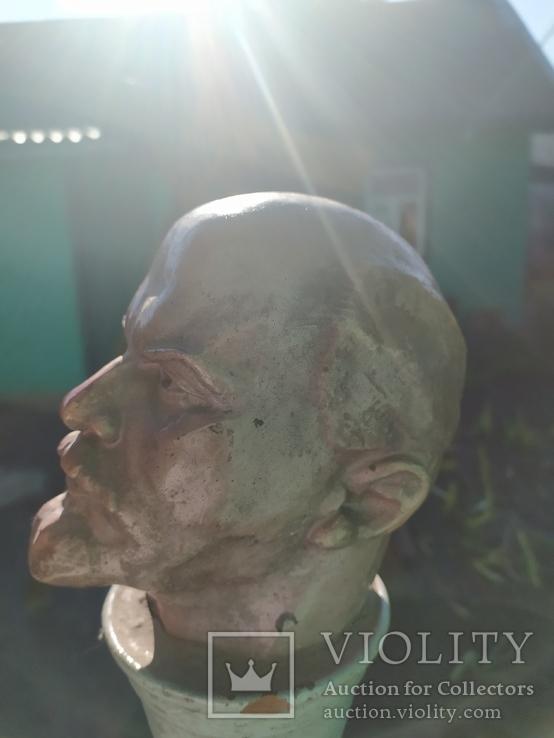Бюст скульптура Ленин как живой, фото №4