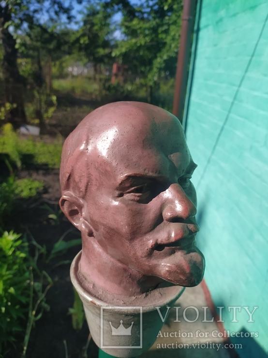 Бюст скульптура Ленин как живой, фото №6