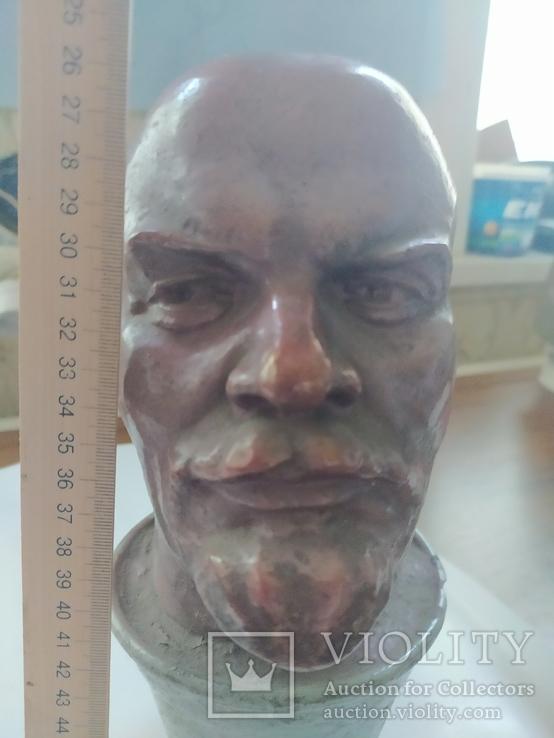 Бюст скульптура Ленин как живой, фото №7