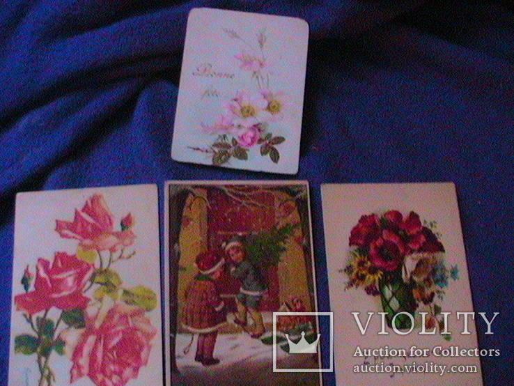 6 дореволюционных иностранных  открыток, фото №4