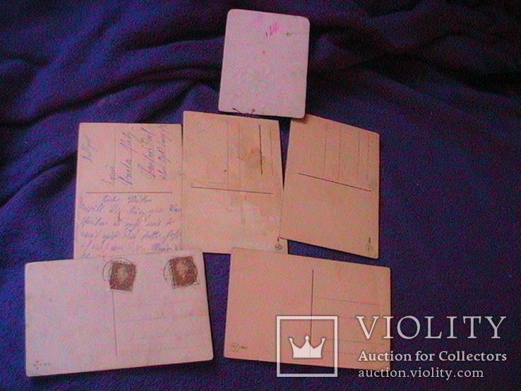 6 дореволюционных иностранных  открыток, фото №5
